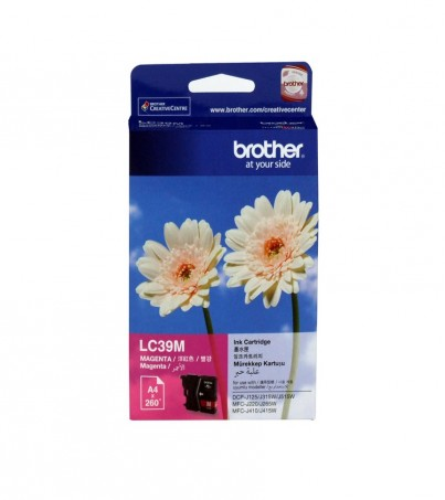 BROTHER INK CARTRIDGE LC-39M