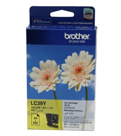 BROTHER INK CARTRIDGE LC-39Y