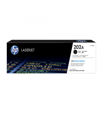 HP TONER 202A BLACK (CF500A)