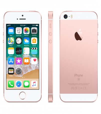(Refurbished) Apple iPhone SE (64GB) - Rose Gold