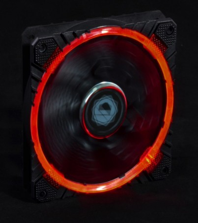 ID Cooling FAN CASE 120MM Riing CF-12025 (Red Led)
