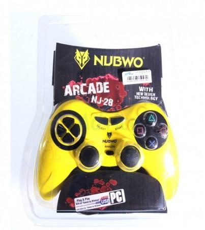 NUBWO JoyStick Analog NJ-28 (Yellow)