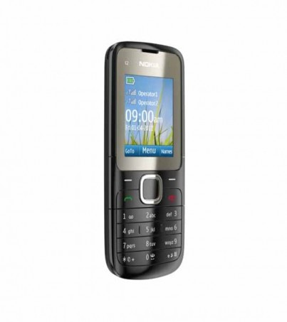 (Refurbished) Nokia C2 - Black
