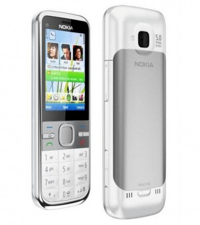 (Refurbished) Nokia C5 - White