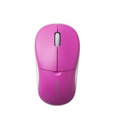 Rapoo Wireless Optical Mouse 1090P (MS1090P) - Pink