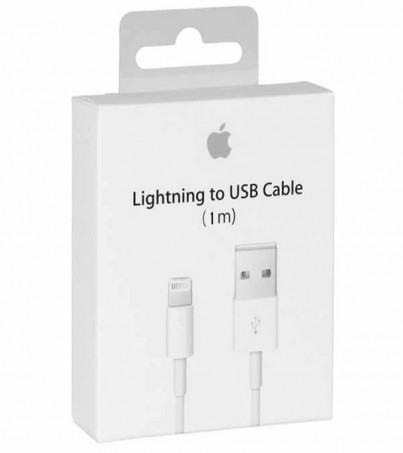 Apple Lightning to USB Cable 1M Original Box- 5 Free 1- (Retail Box)
