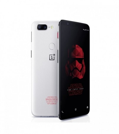 (Import) OnePlus 5T 128GB Ram8 (Star Wars Limited Edition) - White
