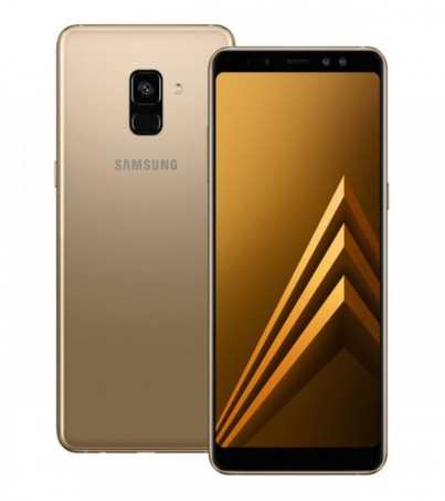 (Refurbish) Samsung Galaxy A8 2018 - Gold