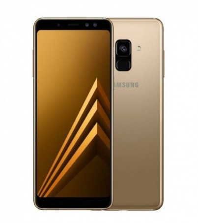 (Refurbish) Samsung Galaxy A8 Plus (A8+ 2018) - Gold