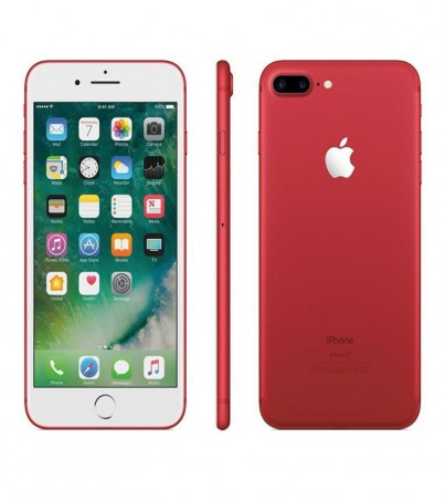 (Refurbished) Apple iPhone 7 Plus (128GB) - Red