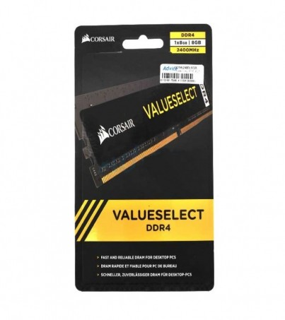 Corsair RAM DDR4(2400) 8GB VALUESELECT