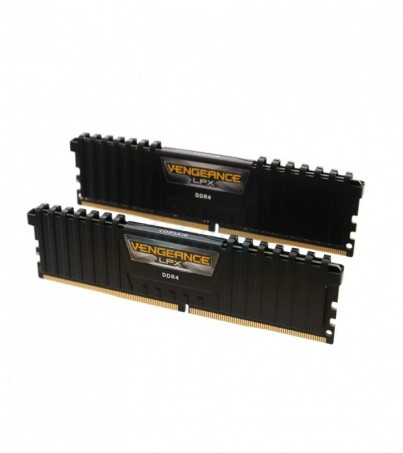 Corsair RAM DDR4(2133) 16GB. (8GBX2) Vengeance LPX - Black