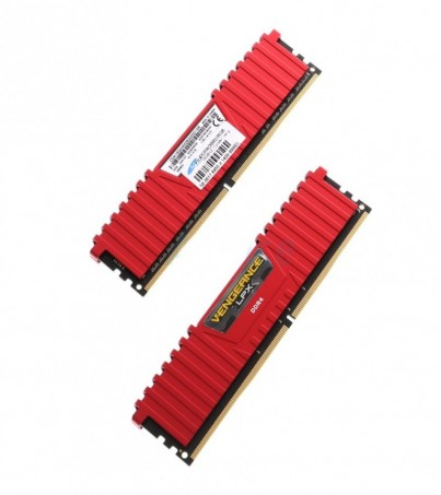 Corsair RAM DDR4(3000) 16GB (8GBX2) Vengeance LPX - Red
