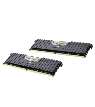 Corsair RAM DDR4(3000) 8GB (4GBX2) Vengeance LPX - Black