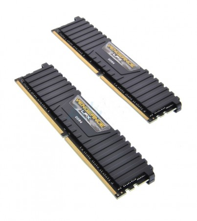 Corsair RAM DDR4(3200) 8GB. (4GBX2) Vengeance LPX - Black