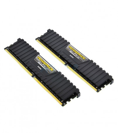 Corsair RAM DDR4(3200) 16GB. (8GBX2) Vengeance LPX - Black