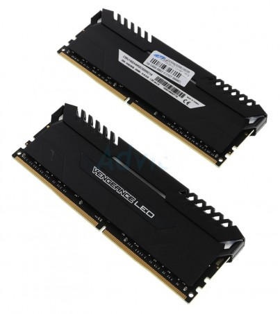 Corsair RAM DDR4(3200) 16GB. (8GBX2) Vengeance LED - White