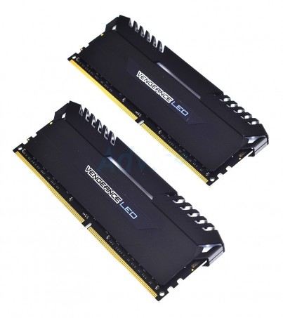 Corsair RAM DDR4(3000) 16GB. (8GBX2) Vengeance LED - Blue