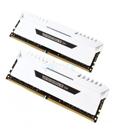 Corsair RAM DDR4(3000) 16GB. (8GBX2) Vengeance RGB - White