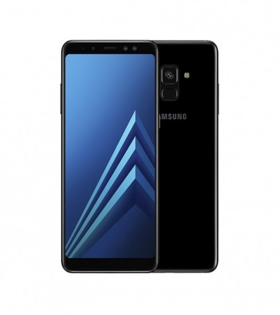 (Refurbish) Samsung Galaxy A8 Plus (A8+ 2018) - Black