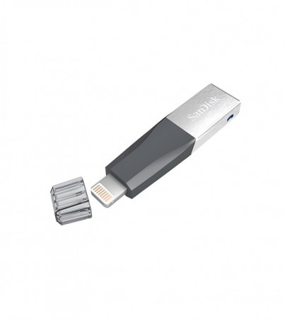 SANDISK IXPAND 128GB FLASH DRIVE FOR iPHONE & iPAD (SDIX40N_128G_GN6NE)