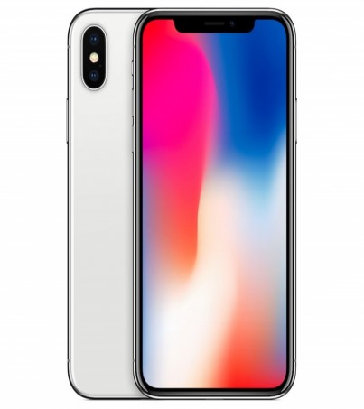 Appple iPhone X 256 GB Silver (MAC) ผ่อน0% 10เดือน
