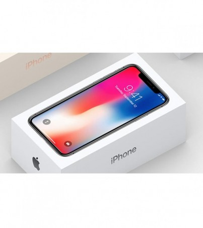 Appple iPhone X 64 GB Silver (MAC) ผ่อน0% 10เดือน