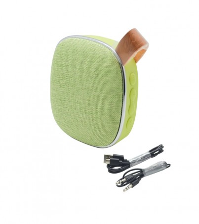 Hoco BS9 Light textile desktop wireless speaker - Green