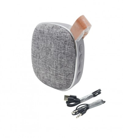 Hoco BS9 Light textile desktop wireless speaker - Gray