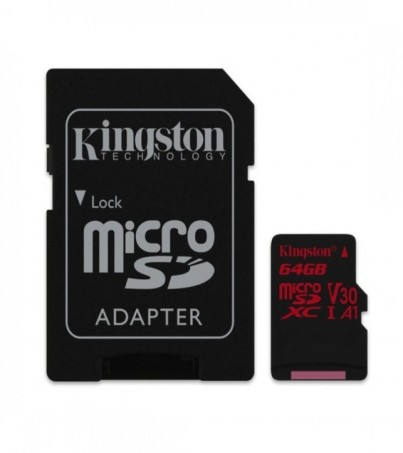 Kingston Canvas React 64GB microSDXC (SDCR/64GB)