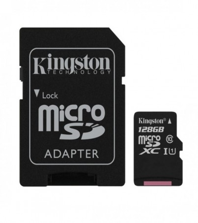 Kingston microSDXC Canvas Select 128GB (SDCS/128GB)