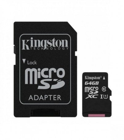 Kingston microSDXC Canvas Select 64GB (SDCS/64GB)