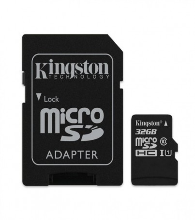 Kingston microSDHC Canvas Select 32GB (SDCS/32GB)