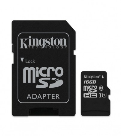 Kingston microSDHC Canvas Select 16GB (SDCS/16GB)