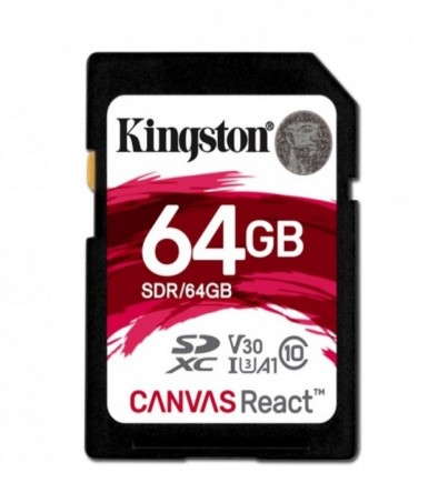 Kingston Canvas React 64GB SDXC (SDR/64GB)