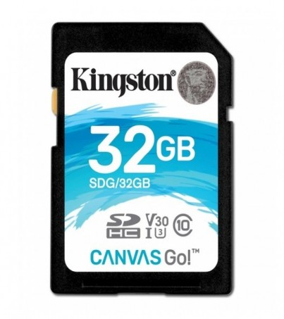 Kingston Canvas Go 32GB SDHC (SDG/32GB)