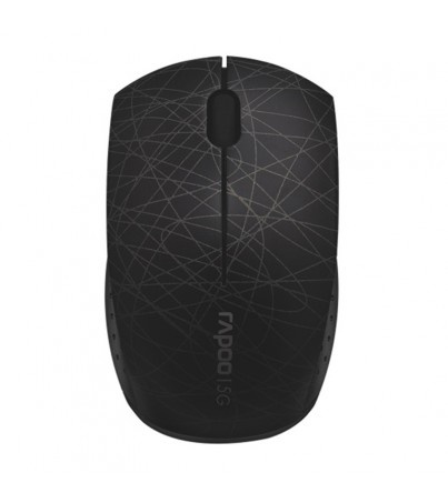 Rapoo Wireless Optical Mouse 3100P (MS3100P-BK) Black