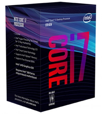 Intel Core i7-8700 3.2 GHz 6-Core LGA 1151 Processor (BX80684I78700)