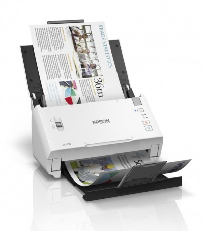 Epson WorkForce DS-410 A4 Duplex Sheet-fed Document Scanner (B11B249501)