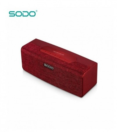 SODO L2 LIFE BLUETOOTH SPEAKER - Red
