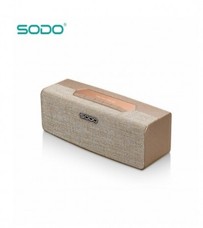 SODO L2 LIFE BLUETOOTH SPEAKER - Gold