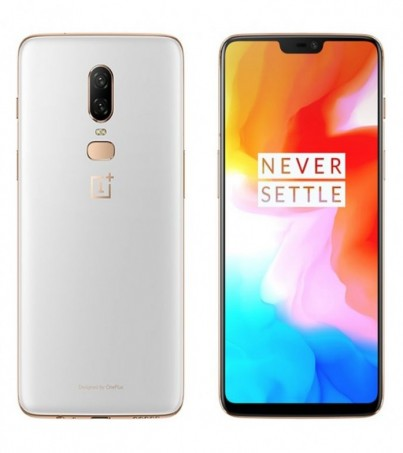 Oneplus 6 (Ram8/128GB) - Silk White
