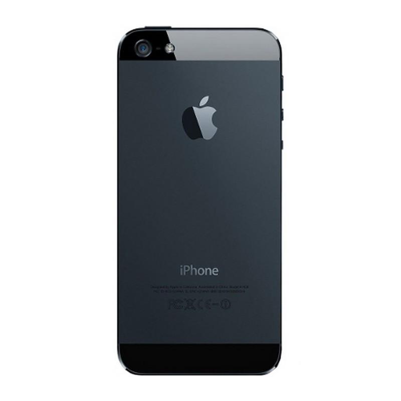 refurbished apple iphone 5 32 gb black supertstore. Black Bedroom Furniture Sets. Home Design Ideas
