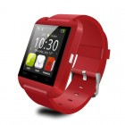 U Watch Bluetooth watch International Red