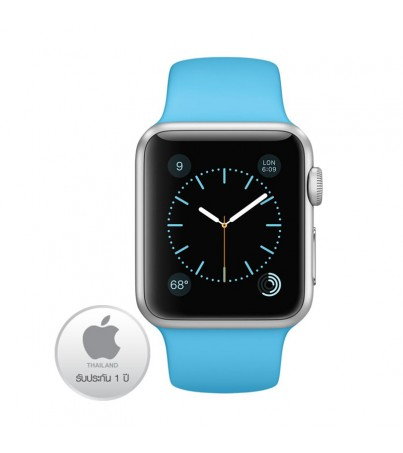 Apple Watch Aluminium Case 38M with Orange Sport Band