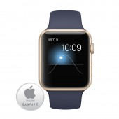 Apple Watch Rose Gold Aluminium Case 42M with Stone Sport Band