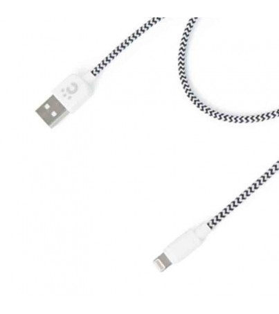 Cheero Fabric braided USB cable with Lightning 50 ซม.