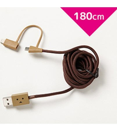 Cheero DANBOARD USB CABLE with Lightning micro USB 180cm