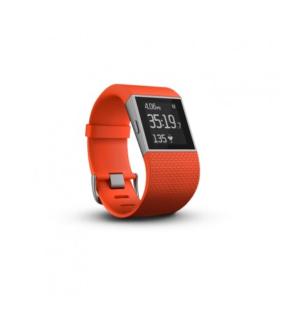 Fitbit Smart Watch Surge Large tangerine
