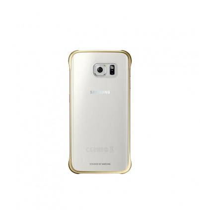 ซัมซุง Clear Cover (กาแล็กซี่ S6 edge) - gold